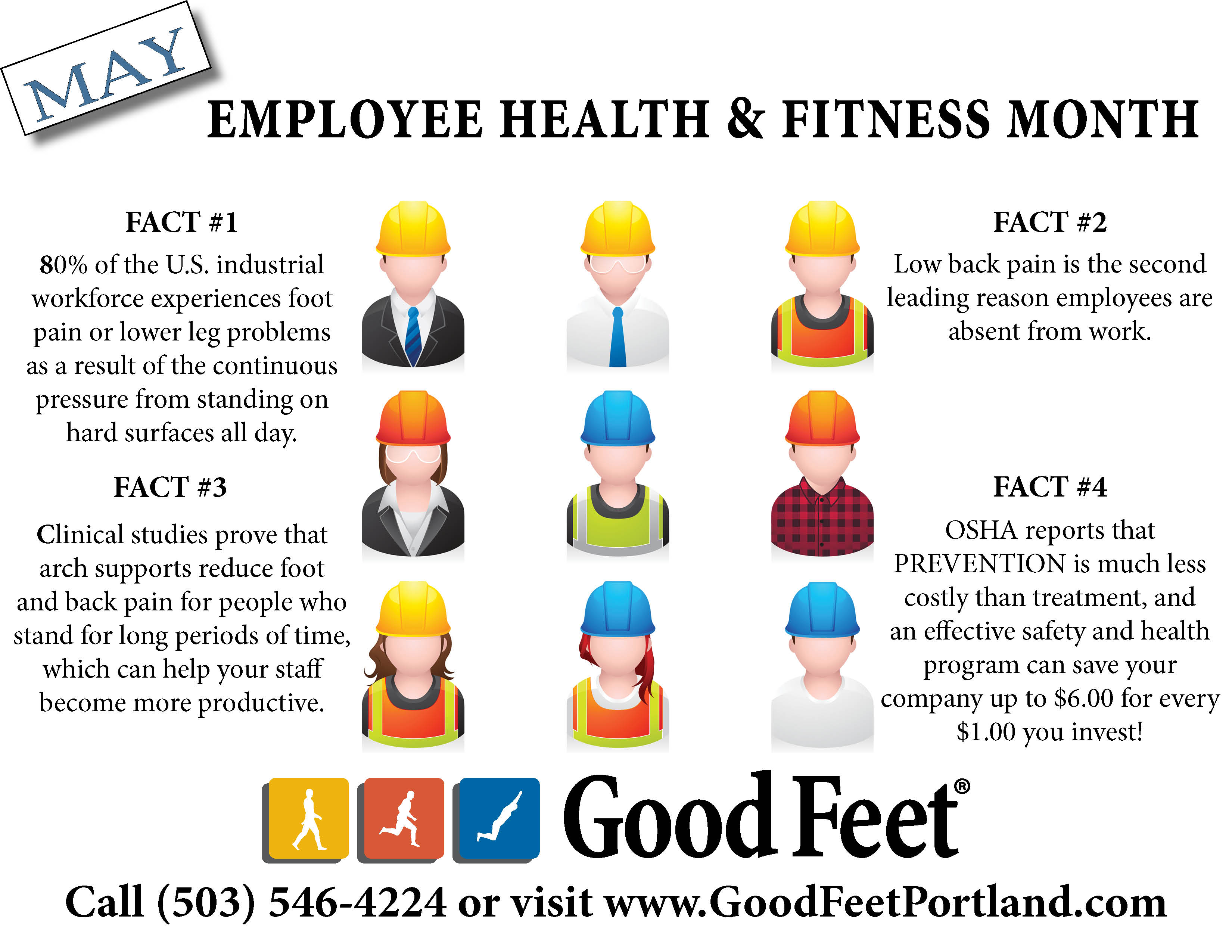 May is employee health & fitness month!
