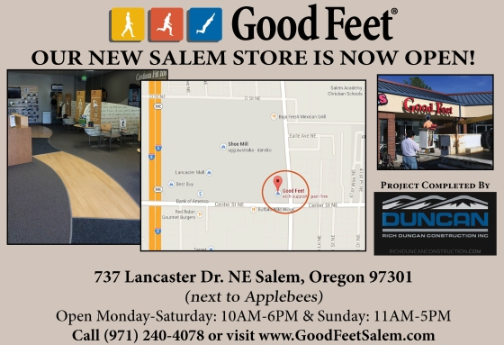 Good Feet Salem Storefront