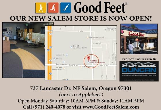 Good Feet Salem Storefront