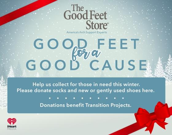Good Feet Good Cause Poster 14x11