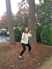 Kristina's Power Move