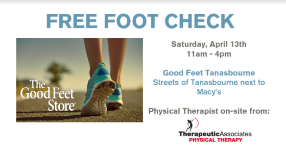 FREE FOOT CHECK TANASBOURNE
