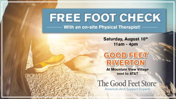 FREE FOOT CHECK RIVERTON
